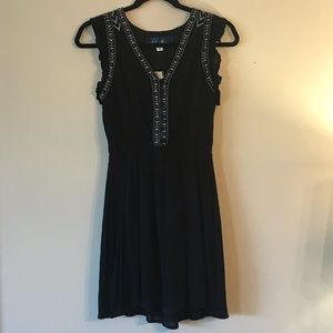 NWT Francesca Boho Embroidered Dress Size XS
